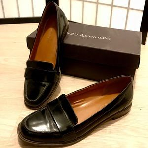 Enzo Angiolini Black Loafer Size 7.5